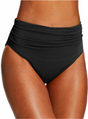 Magicsuit Ruched Swim Brief Bottoms $72 thestylecure.com