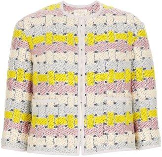CALLA Tetris Tweed Cropped Jacket
