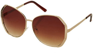 Topshop Metal Butterfly Sunglasses