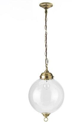Williams-Sonoma Knottsbury Glass Globe Pendant