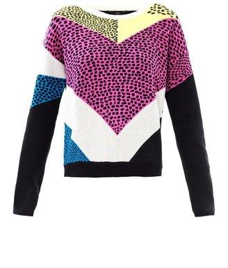 Tibi Nelio jacquard sweater