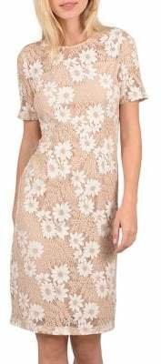 Molly Bracken Daisy Lace Short Sleeve Dress