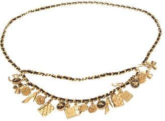 Chanel charm belt