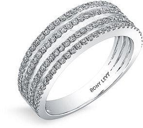 Nordstrom Bony Levy 'Split' Diamond Ring Exclusive)