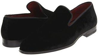 Magnanni Dorio (Black) Men's Slip on Shoes