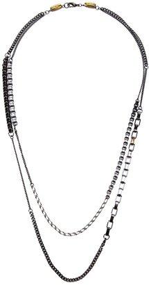Curiosity Box Double chain Necklace