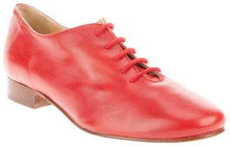 Labour Of Love red leather tap shoe