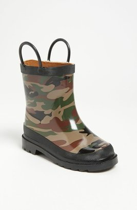 Western Chief Toddler Boy's 'Camo' Rain Boot