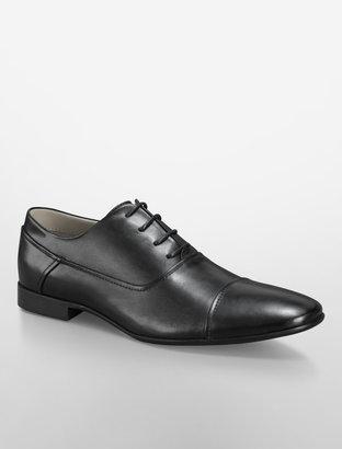 Calvin Klein Irah Cap Toe Leather Shoe