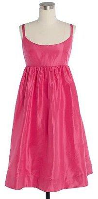 J.Crew Silk taffeta ballerina dress