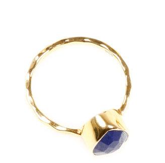 Lapis Eswera Square Ring