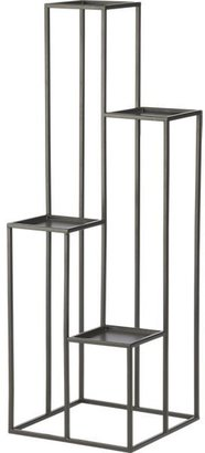 Crate & Barrel Quadrant Plant Stand