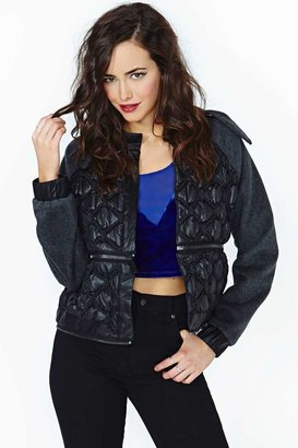 Nasty Gal Collection Tri Empire Coat