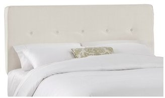 Skyline Furniture Upholstered Panel Headboard Size: King, Upholstery: Talc