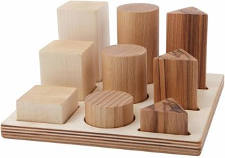 story. Wooden Natural Wooden XL Shape Sorter Board