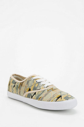 Urban Outfitters Woven Plimsoll Sneaker