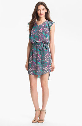 Jessica Simpson Print Blouson Dress