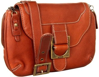 Ecco Ajaccio Crossbody Bag (Cognac) - Bags and Luggage