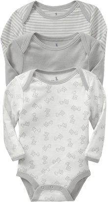 Old Navy Little Bundles Bodysuit 3-Packs for Baby