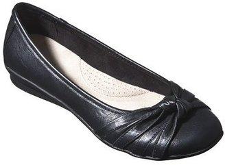 Merona Women's Mieko Comfort Flat - Black