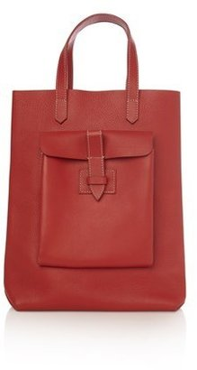 French Connection Leather Shopper Bag