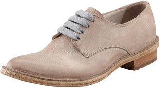 Brunello Cucinelli Western Style Oxford, Light Taupe