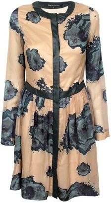 Timo Weiland Leather Placket Dress
