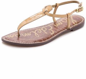 Sam Edelman Gigi Patent T Strap Sandals $60 thestylecure.com