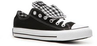 Converse Double Tongue Gingham Print Sneaker - Womens