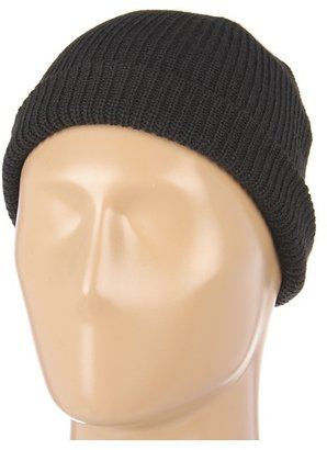Puma Deckhand Ribbed Beanie Black) - Hats