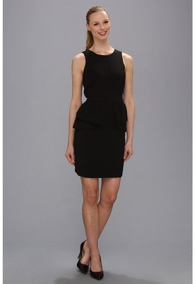 MICHAEL Michael Kors Peplum Dress (Black) - Apparel