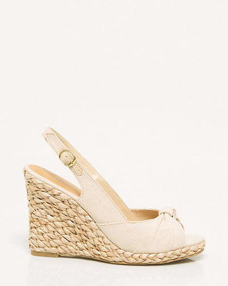 Le Château Canvas Open Toe Espadrille