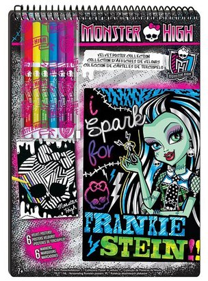 Fashion Angels Monster High Velvet Poster Collection by
