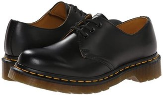 Dr. Martens 1461 W (Black Smooth) Women's Lace up casual Shoes