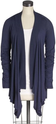 Splendid Basic Very Light Jersey Drapey Cardigan