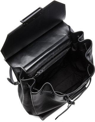Alexander Wang Prisma Skeletal Backpack in Black