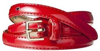 Merona Skinny Belt - Red