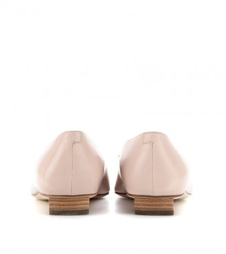 Roger Vivier Belle Vivier leather ballerinas