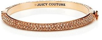 Juicy Couture Pave Hinged Bangle