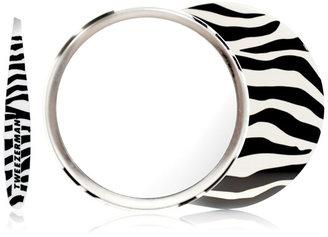 Tweezerman Zebra Mini Slant Tweezer w/ Mirror