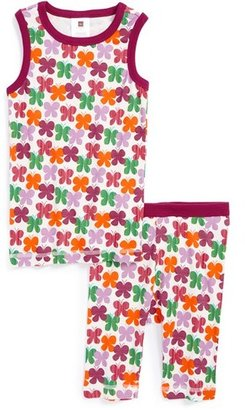 Tea Collection 'Swirling Butterflies' Two-Piece Fitted Pajamas (Little Girls & Big Girls)