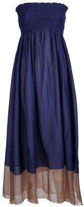 Giada Forte Long strapless dress