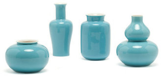 Gump's Turquoise Mini Vases
