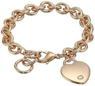 GUESS Heart Bracelet (Rose Gold) Bracelet