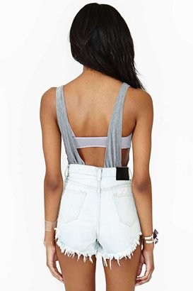 Nasty Gal UNIF Space Out Cutoff Shorts