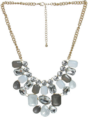 Arden B Tonal Stone Statement Necklace