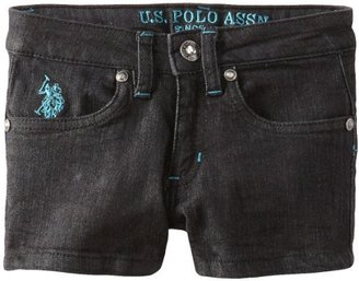 U.S. Polo Assn. Girls 2-6X Denim Short
