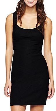 JCPenney A-Line Cage-Back Dress