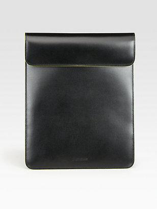 Jil Sander Contrast Trim iPad Holder