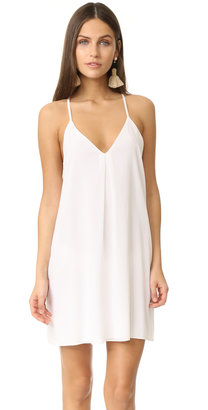 alice + olivia Fierra Y Back Tank Dress $198 thestylecure.com